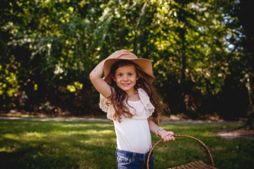 Fossil Photography- Everly one year-10