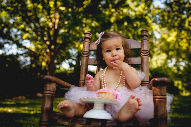 Fossil Photography- Everly one year-28